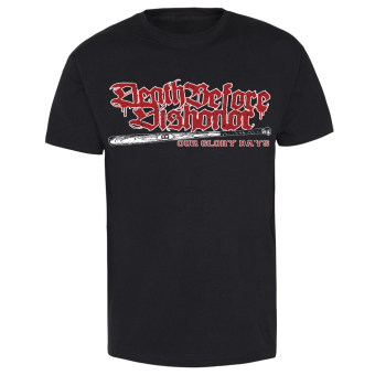 "Death Before Dishonor ""Baseball Bat"" T-Shirt"