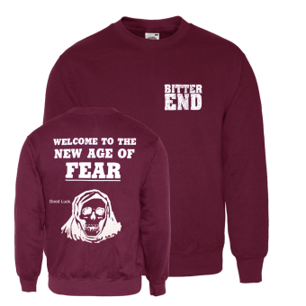 "Bitter End ""New Age"" Sweatshirt (bordeaux)"