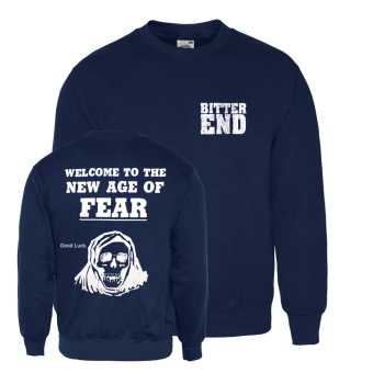 "Bitter End ""New Age"" Sweatshirt (navy)"