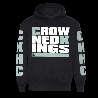 """Crowned Kings """"CKHC"""" Hoodie (black) (XL)"""