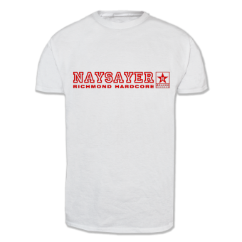 "Naysayer ""Reapelation"" T-Shirt (white)"
