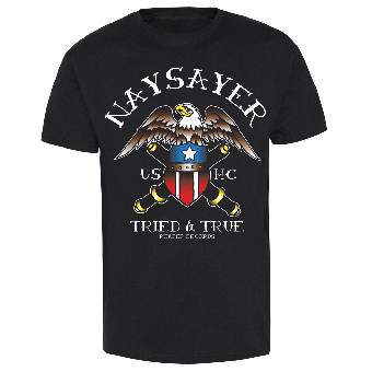 "Naysayer ""USHC"" T-Shirt (black)"