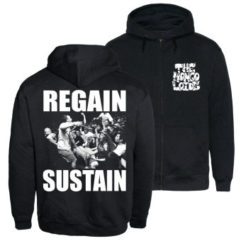 "The Mongoloids ""Regain Sustain"" Zip Hoody (black)"