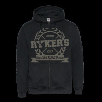 """Rykers """"College HC"""" Zip Hoody (black)"""