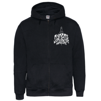 "Rykers ""Dagger"" Zip Hoody (black)"