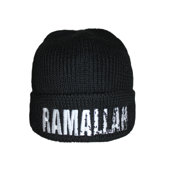 "Ramallah ""Logo"" Dockers Hat (black)"