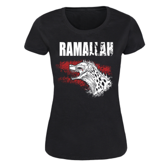 "Ramallah ""Howlin"" Girly Shirt (black)"