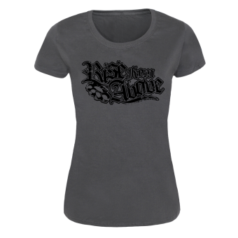 """Rise from Above """"Logo"""" Girly Shirt (charcoal)"""
