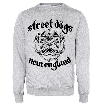 "Street Dogs ""New England"" Sweatshirt (grey)"