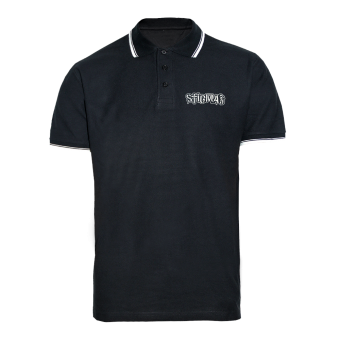 "Stigma ""Logo"" Polo Shirt (black)"