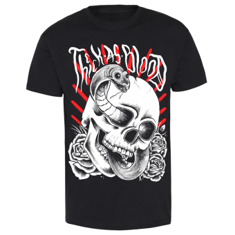"Thick As Blood ""Snake and Skull"" T-Shirt (black)"