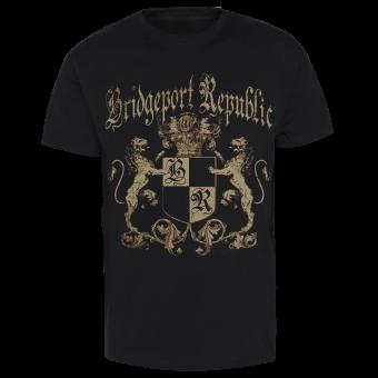 """Bridgeport Republic """"Lion Crest"""" T-Shirt (black)"""