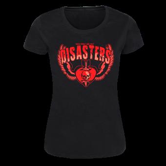 "Disasters ""Skullbomb"" Girly Shirt (black)"