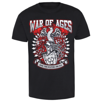 """War of Ages """"Eagle"""" T-Shirt (black)"""