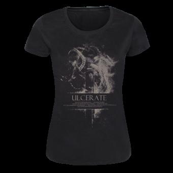 "Ulcerate ""Vermis"" Girly Shirt (black)"