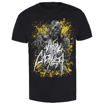 """Waking the Cadaver """"In Your Face"""" T-Shirt (black)"""