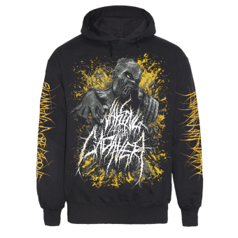 """Waking the Cadaver """"In Your Face"""" Hoody (black)"""