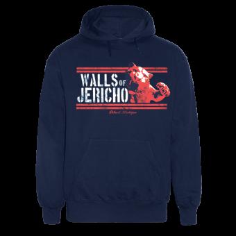 "Walls of Jericho ""Tiger"" Hoody (navy)"