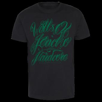 """Walls of Jericho """"Tattoo"""" T-Shirt (black)"""