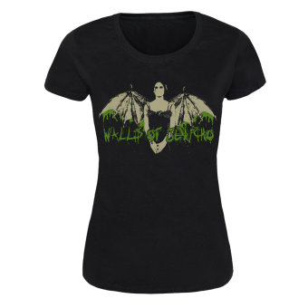 "Walls of Jericho ""Vixen"" Girly Shirt (black)"
