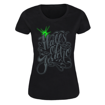"Walls of Jericho ""Oldschool Logo"" Girly Shirt (black)"