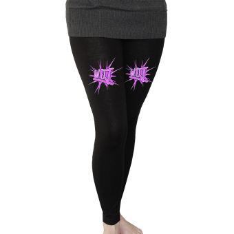 "Walls of Jericho ""Star"" Leggings (black)"