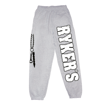 "Rykers ""Logo"" Jogginghose / Jog Pants (grey)"