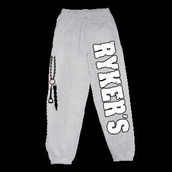 "Rykers ""Logo"" Jogginghose / Jog Pants (grey)"
