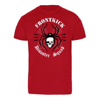 "Frontkick ""Disaster Squad"" T-Shirt (red)"