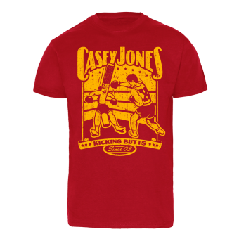 "Casey Jones ""Cig Punch"" T-Shirt (rot)"