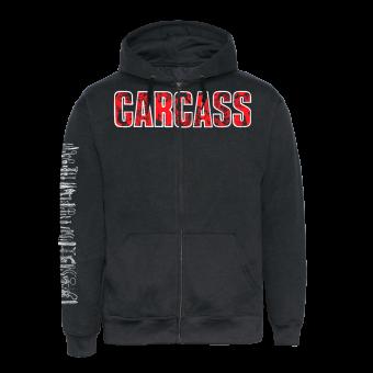 """Carcass """"Death Crusher"""" Zip Hooded"""