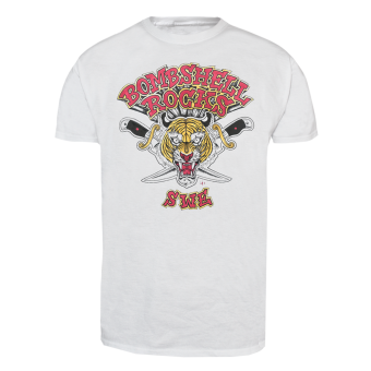 "Bombshell ""Tiger"" T-Shirt (white)"