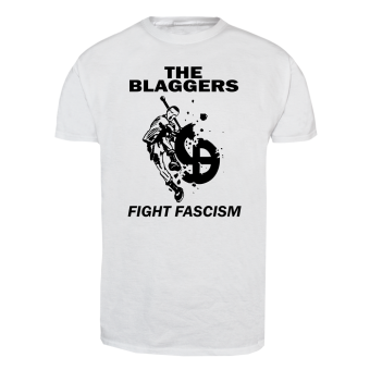 "Blaggers ""Fight Fascism"" T-Shirt (white)"