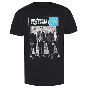 "Buzzcocks ""40 Years"" T-Shirt"