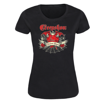 "Creepshow ""Demon"" Girly Shirt"