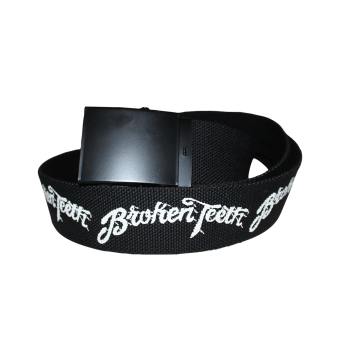 "Broken Teeth ""Logo"" Belt"