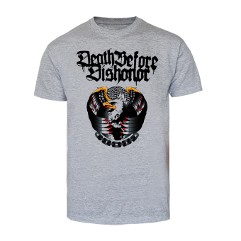 "Death Before Dishonor ""Eagle"" T-Shirt (grey)"