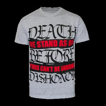 "Death Before Dishonor ""Undone"" T-Shirt (grey)"