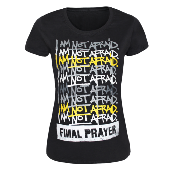 "Final Prayer ""I.A.N.A."" Girly Shirt"