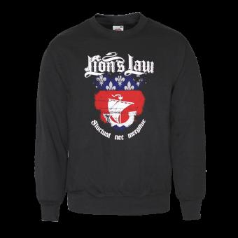 """Lion`s Law """"Fluctuat"""" Sweatshirt"""
