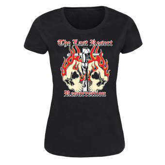 "Last Resort ""Resurrection"" Girly Shirt"