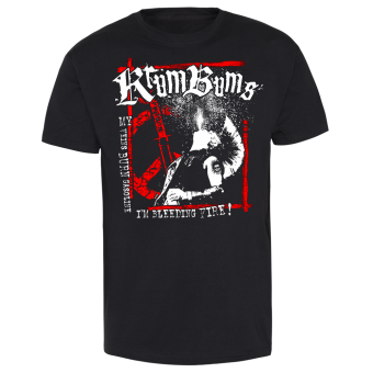 """Krum Bums """"Bleeding Fire"""" T-Shirt"""
