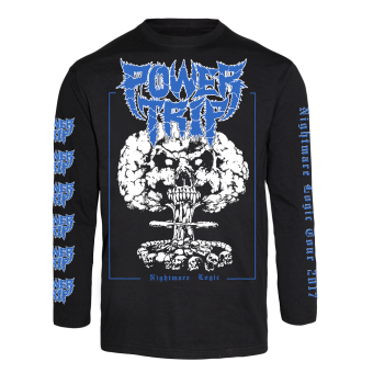 "Power Trip ""Explosion Face"" Longsleeve"