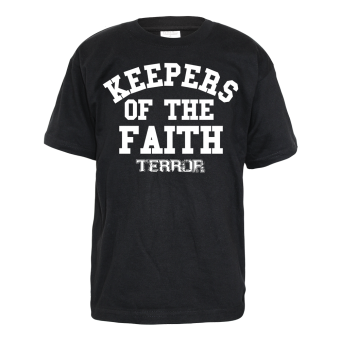 "Terror ""Keepers of the Faith"" Kids T-Shirt"