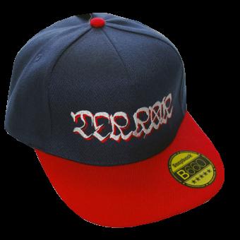"""Terror """"Logo"""" Snapback (navy/red)"""