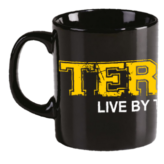 "Terror ""Live by the Code"" Tasse/Mug"