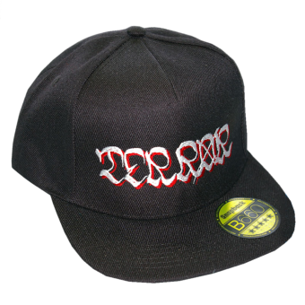 "Terror ""Logo"" Snapback (black/black)"