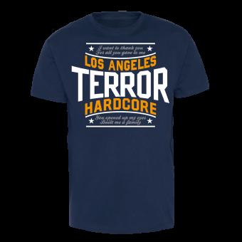 "Terror ""Thank You"" T-Shirt (navy)"