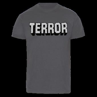"Terror ""Skater"" T-Shirt (charcoal)"