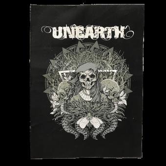 """Unearth """"Mercer"""" Stoffaufnäher / Patch (Druck)"""